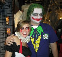 The Joker and the Victim... by EVysther