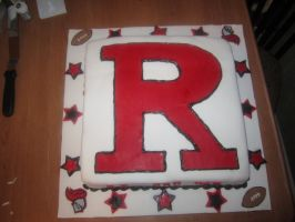 Rutgers University Cake by Keep-It-Sweet