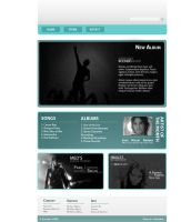 Webdesign - Music by huuu