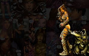 Witchblade.Oops by Troilus