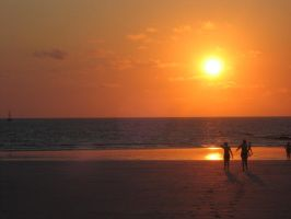 Cable Beach Sunset by chameleon09