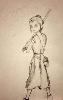 Rey-dy to fight by IceFlea