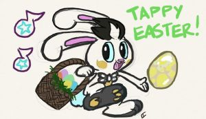Tappy Easter by Gryphon-HB