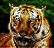 Tiger Fractalius by mceric