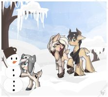 Winter fun ((CM)) by Drawing-Heart