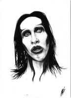 Marilyn Manson (HW) by KlopBondy