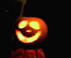 Pumpkin: Jack Skellington by Anie