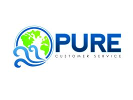 Pure Customer Service Logo by xman20