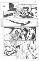 X-Men Schism 5 Page 10 Sample by thecreatorhd