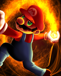 SSB - Mario by zelc-face