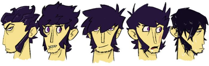 Morgan faces by The-Atomic-Mr-B