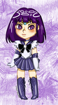 Chibi - Sailor Saturn by wumblebum-arts