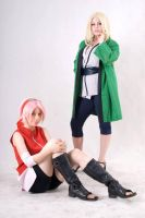 Sakura and Tsunade by ToraCosplayers