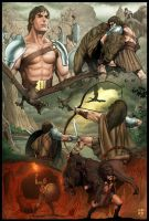Hercules The Thracian Wars #1 by erlanarya