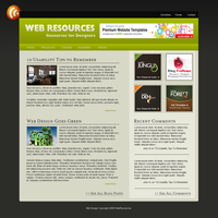 Web Design Resources Blog by Brukhar