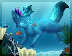 The Ocean Blue by Bluefire-kitteh