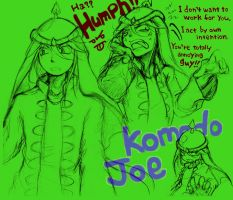 CRB: Komodo Joe Human Style by sanada-number09