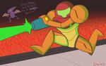 Metroid is a Cool Guy by DeathToSquishies