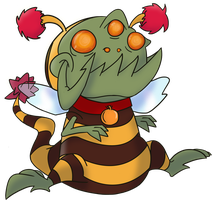 Bumble Gnaw by PaperDoppel