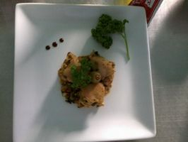 Sauted Peanut Butter Chicken by AngelGliss3