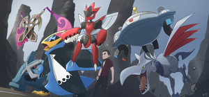 COMMISSION:  Reiji's PokemonTeam by mark331
