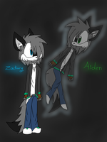 ~Zackary and Aiden~ by ChibiChibiWoofWoof