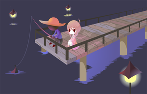 Yume Nikki - Docks by Thayora