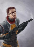 Freeman by kila-ibyao