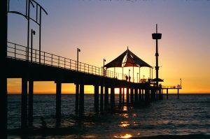 Brighton Pier Sunset by Shownv
