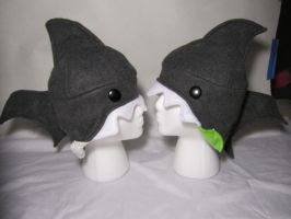 Shark Hats - Gifted by Ghost-Apple