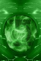 Green Lantern Suit ipod background by KalEl7