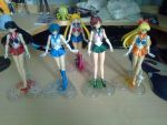 Sailor girls scouts by MrL3821
