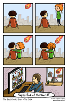 The Best Comics Ever: The End by SatyrArs