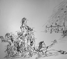Departure of the Fairies.close by muyany