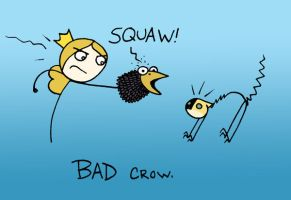 BAD Crow by SurlyQueen