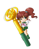 Sailor Jupiter Wand by SMeadows