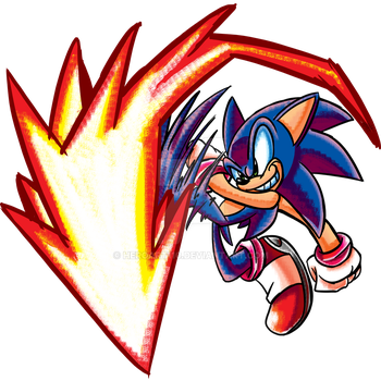 Sonic 2K15 smash collab by HeroArt110