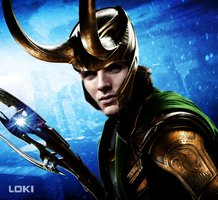 God Loki III by HellKobra