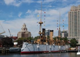 Grand Old Lady (USS Olympia) by DavidKrigbaum