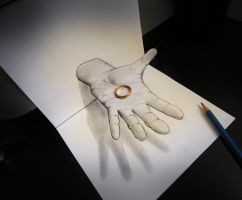Ring (anamorphosis) by AlessandroDIDDI