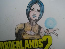 Borderlands 2 Poster WIP by XOBexxie