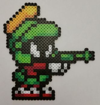 Marvin the Martian Perler by jrfromdallas