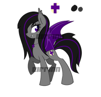 Bat Pony -Adoptable- -OUTDATED by Eirrinn