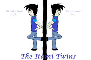 The Itami Twins by sexyichihimefan