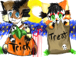 Trick or Treat by Toxic-dolls