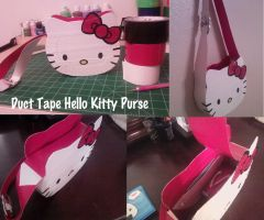 Duct Tape Hello Kitty Purse by thejenty