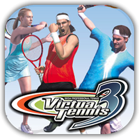 Virtua Tennis 3 Game Icon by Wolfangraul