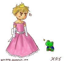 The Princess and the Frog by gohe1090
