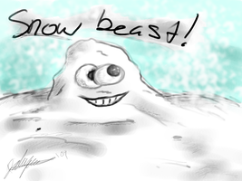SNOW BEAST by Paingiver