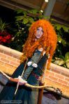 Merida: Stare Down by kanracakes